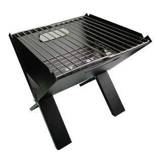 Portable Folding Charcoal BBQ Grill Stainless Steel Simple Bbq