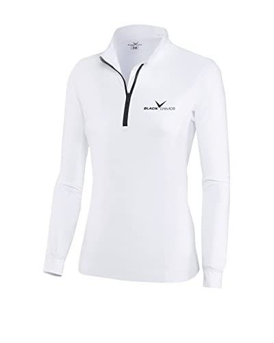 Black Crevice Camiseta Manga Larga Blanco / Negro ES 38 (DE 36)
