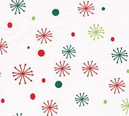 """200 Seasons Greetings Snowflakes Print Tissue Paper, 20""""x30"""" Sheets"""