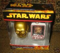 Star Wars Holiday Ornament C-3po 2 Piece Set
