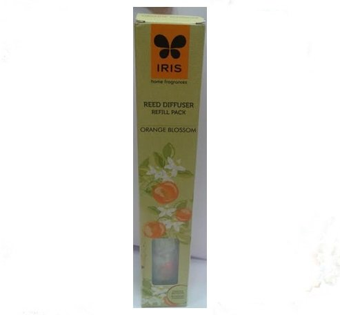 Iris Reed Diffuser Refill Pack Orange Blossom Fragrance