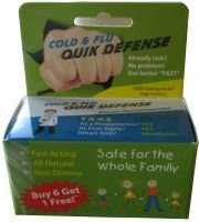 Healthy Living Solutions Cold & Flu Quik Defense 20ct