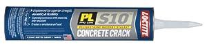 OSI - Henkel S10 Polyurethane Concrete Crack and Masonry Sealant, 10-Ounce, Gray