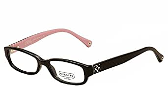 Amazon.com: Coach HC6001 Emily Eyeglasses 5053 Black Demo ...