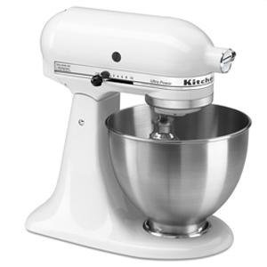 KitchenAid KSM95 4.5-quart Ultra Power Tilt-head Stand Mixer - White