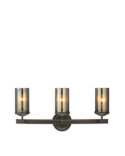 Seagull Lighting Sfera 3-Light Wall/Bath Light, Autumn Bronze