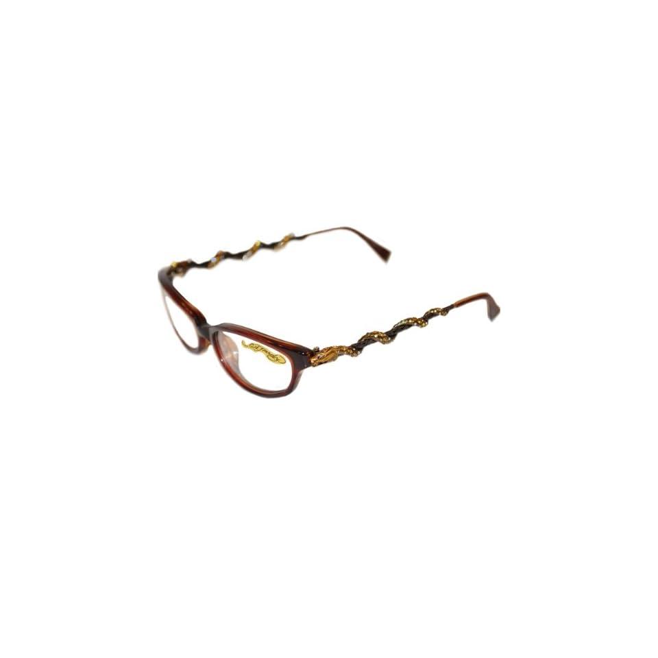 c71434c9dffa0 ED HARDY EHO 710 color HAZEL Eyeglasses on PopScreen