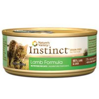 Nature's Variety Instinct Grain-Free Lamb Formula Canned Cat