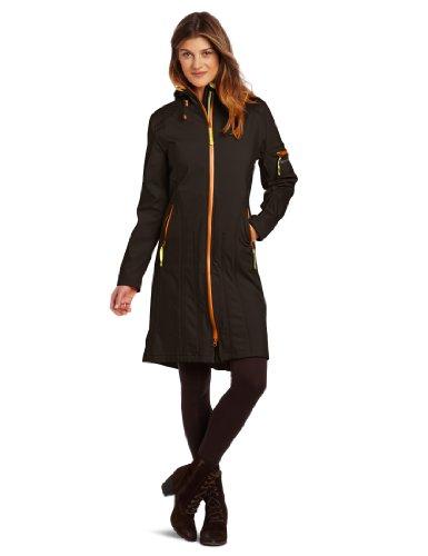 ILSE JACOBSEN Women's Rain 6b Soft Shell Coat, Black, 36