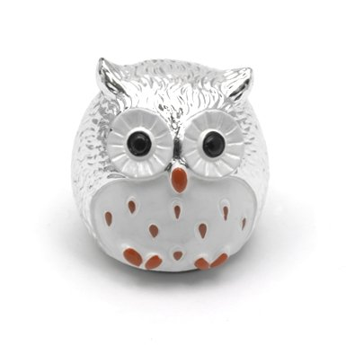 Owl Lip Balm (Silver)
