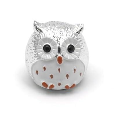 Owl Lip Balm (Silver)