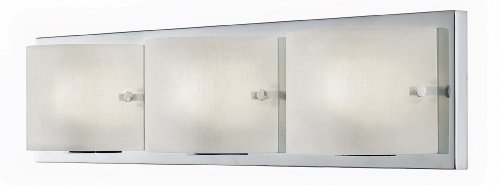 Canarm IVL420A03CH9 Rikki 3-Light Bath Vanity Light