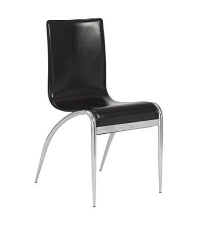 Eurostyle Grace Side Chair, Black