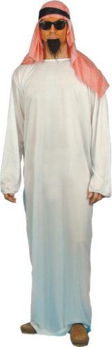 Smiffy's Men's Arab Costume with Long Tunic and Headdress