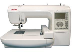 Craft embroidery machine janome 200e memory craft for Janome memory craft 200e