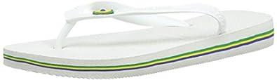 Havaianas Brazil Flip-flop White Rubber - 4/5 UK