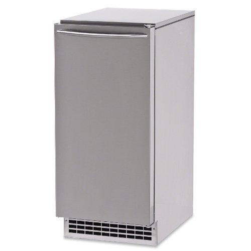 Ice-O-Matic Undercounter Self-Contained Commercial Ice Maker - 85 lb Capacity mini ice cream maker commercial soft serve icecream machine