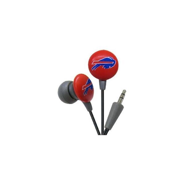 Buffalo Bills NFL Team Logo iHip Ear buds (iPod, iPad, iPhone Compatible)