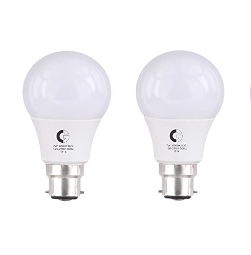 LSP7 CDL BCPRO 7W LED Bulb (Cool Day Light, Pack of 2)