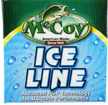 McCoy Ice Fishing Line - CO-POLYMER - Mean Green Tint - 06 LB Test - 125 Yards