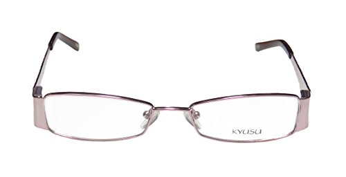 kyusu-1145-womens-ladies-designer-full-rim-eyeglasses-eyeglass-frame-50-16-135-shiny-pink-blush-pome