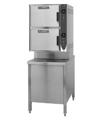 Blodgett 6E-Sc 2401 2-Compartment Convection Steamer, 24-In Cabinet Base, 240/1 V, Each front-582006