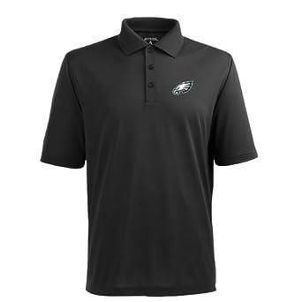 NFL Mens Philadelphia Eagles Pique Xtra Lite Desert Dry Polo Shirt by Antigua