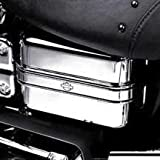 H-D Chrome Electrical Panel Cover with Trim 66426-04