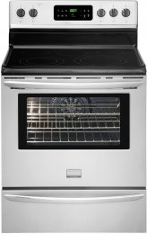 """Frigidaire Gallery Fgef3032Mf 30"""" Freestanding Electric Range In Smudge Proof Stainless Steel"""