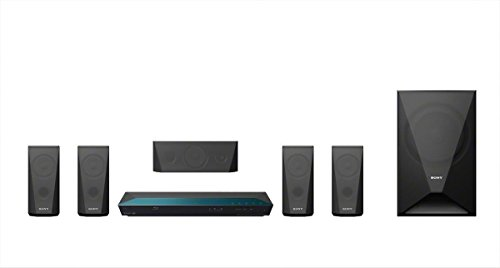 Sony BDV-E3100 5.1 Channel 3D Blu-ray Disc Home Theater System with Built-In Wi-Fi