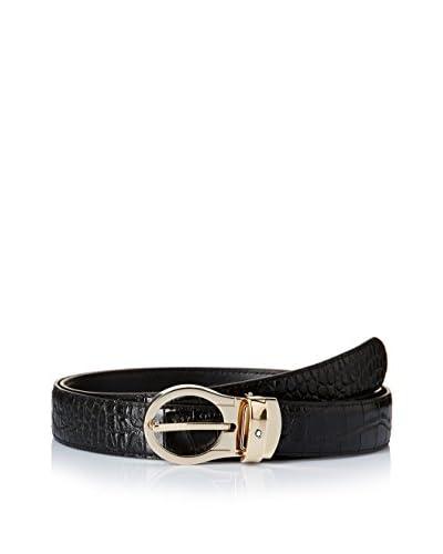 Montblanc Cinturón 112897 Negro