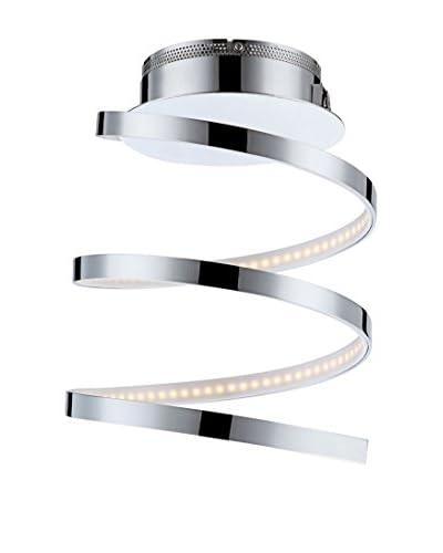 WOFI Deckenleuchte LED Laval chrom