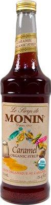 Monin Organic Caramel Syrup 750 ml