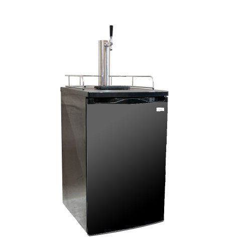 Kegco K199B-1 Full Size Kegerator with Black Cabinet and Door