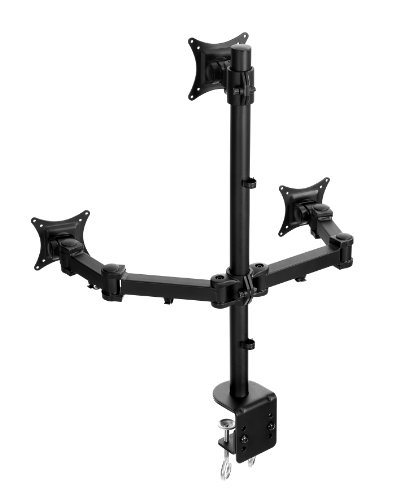 Lavolta Stand Arm Pole for 2x Monitor LCD LED TV Screen Display Flat Panel Plasma