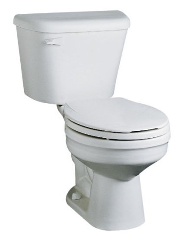 Buy Crane Plumbing New Galaxy Lite 1.6 GPF / 6.0 LPF 12-Inch Vitreous China Toilet Bowls #3372