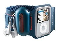 Belkin Sport Armband Plus Case for iPod nano 3G (Blue)