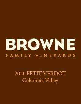 2011 Browne Family Petit Verdot, Columbia Valley 750Ml