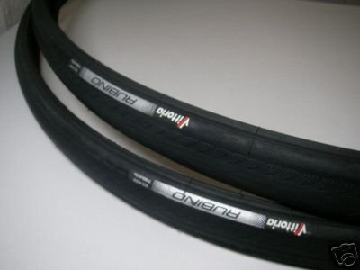 1 Satz Vittoria Rubino Rennradreifen 700x23C sw+2 Schwalbe Schl&#228;uche