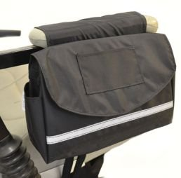 Storage Armrest Deluxe Saddle Bag For Scooter Or Power Wheelchair