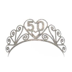 Elope 50Th Birthday Tiara Costume