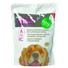 Hip & Joint Health Premium Soft Chews For All Dogs Savory Beef Flavor 60 Chews/ 10.58Oz