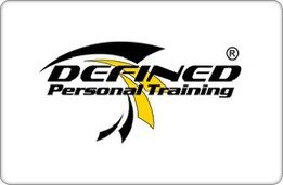 Defined Personal Training Gift Card ($200)