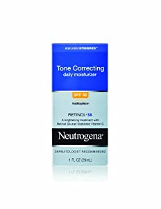 Neutrogena Ageless Intensives Tone Correcting Moisture, SPF 30, 1 Ounce