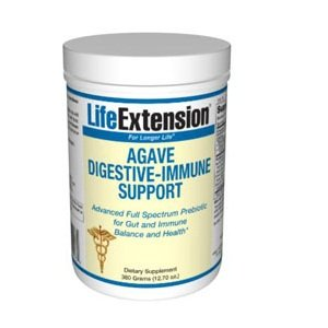 Life Extension Agave Digestive Immune Support Powder, 360 Grams ( 12.7 Ounce)
