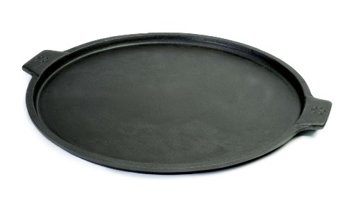Pizzacraft PC0300 13-Inch Round Cast Iron Pizza Pan with Handles
