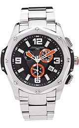 Jorg Gray Swiss ISA Chrono Black Dial Men's watch #JG9100-14