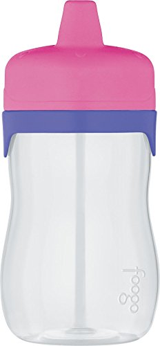 THERMOS FOOGO 11-Ounce Hard Spout Sippy Cup, Pink/Purple