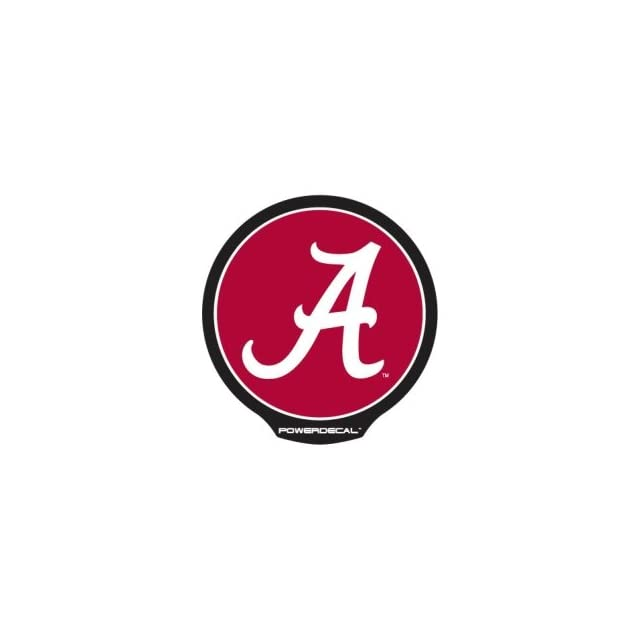 Alabama Crimson Tide Die Cut Decal Power Decal