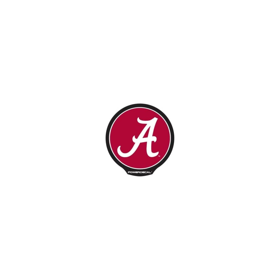Alabama Crimson Tide Die Cut Decal Power Decal